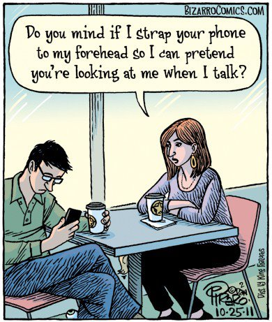 Phones and Marriage